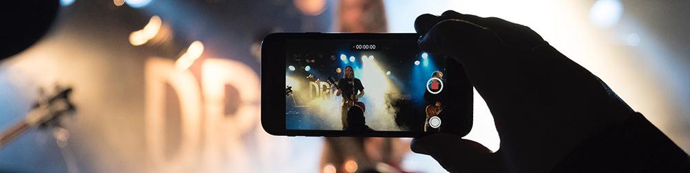 Bransjetips: Hvordan streame fra en arena eller en festival